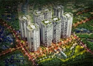 Phối cảnh căn hộ Him Lam Quận 6