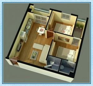 Diện tích căn hộ Tecco Green Nest quận 12