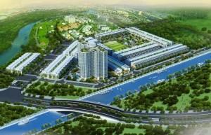 Phối cảnh dự án đất nền Osaka Garden Quận 8
