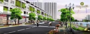 Tiện ích dự án đất nền Osaka Garden 1
