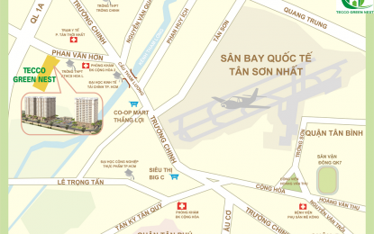 Căn hộ Tecco Green Nest gây sóng thị trường căn hộ giá rẻ tại HCM