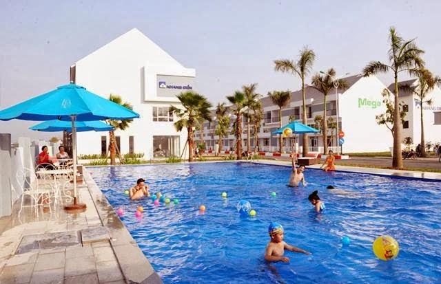 dự án Mega Residence quận 9 hồ bơi