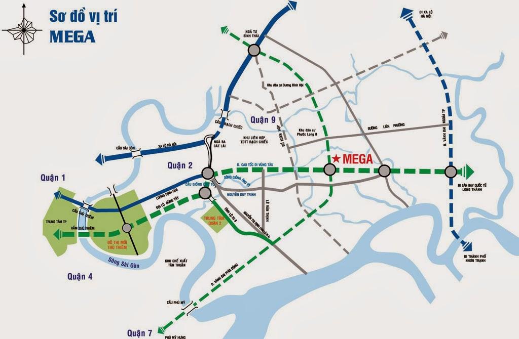 dự án Mega Residence quận 9 vị trí