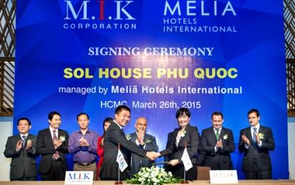 M.I.K ký kết ra mắt dự án khu nghỉ dưỡng Sol House Phú Quốc
