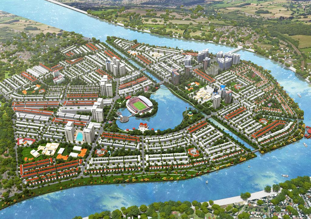 qui hoach du an Van Phuc Riverside City