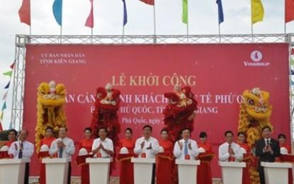 Chính thức khởi công cảng hành khách quốc tế Phú Quốc