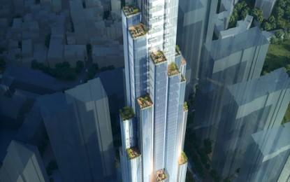 Vinhomes Landmark 81 chính thức được tập đoàn Dezeen xây dựng