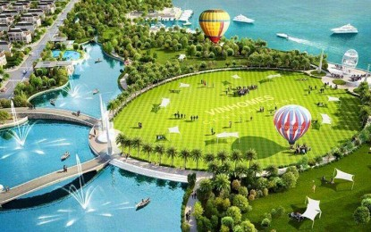 Chính thức công bố công viên ven sông lớn nhất HCM