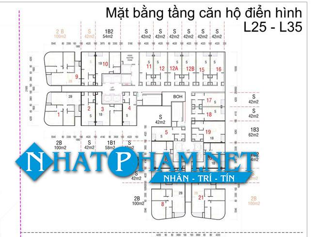 mat bang tang vinpearl condotel da nang 2