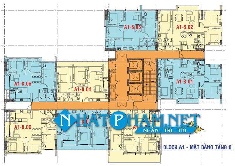 mat bang tang block A1