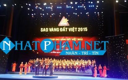 Đất Xanh nhận giải Sao Vàng Việt Nam