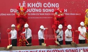 le khoi cong tuyen duong song hanh cao toc