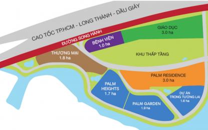 Quy hoạch tổng thể khu đô thị Palm City