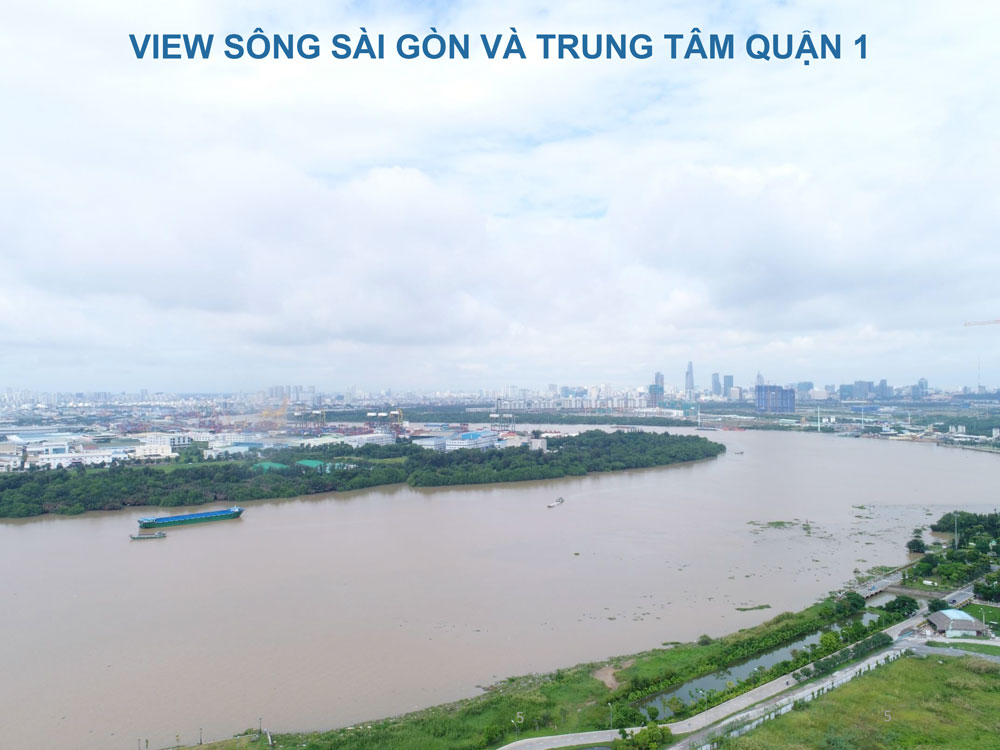can ho one verandah view song tuyet dep