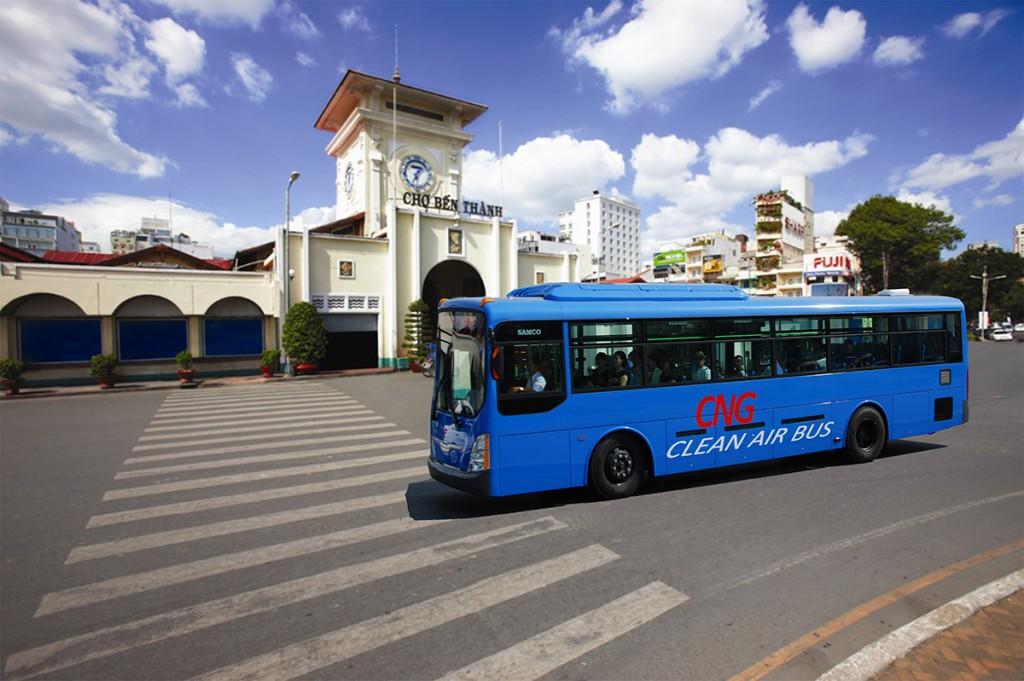 xe bus di qua can ho palm garden quan 2